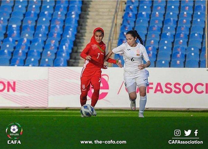 Футболистки Кыргызстана заняли третье место на чемпионате CAFA-2021 в Душанбе