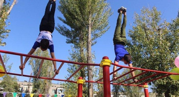 Впервые в Кыргызстане появится спортивная площадка на крыше здания!