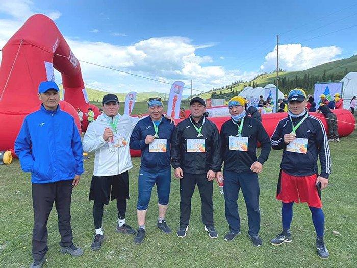 Канатбек Шабданбаев стартовал в горном марафоне